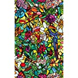 DC Fix 346-0647 Spring Chapel Window Film, Multi-Color