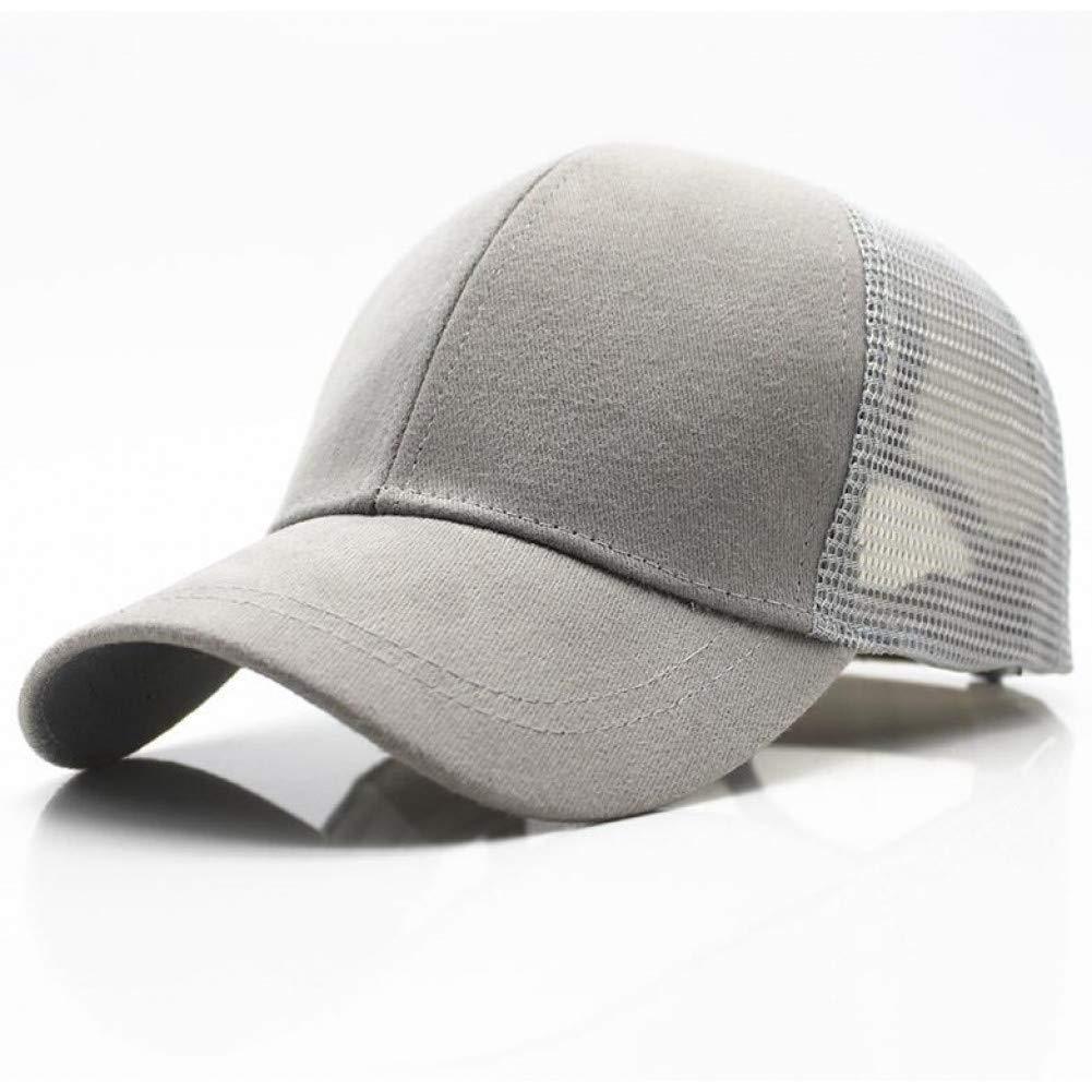 c2b7e6245 Grey Outdoor Sports hat Baseball Cap Arrivals Ponytail Hair Baseball ...