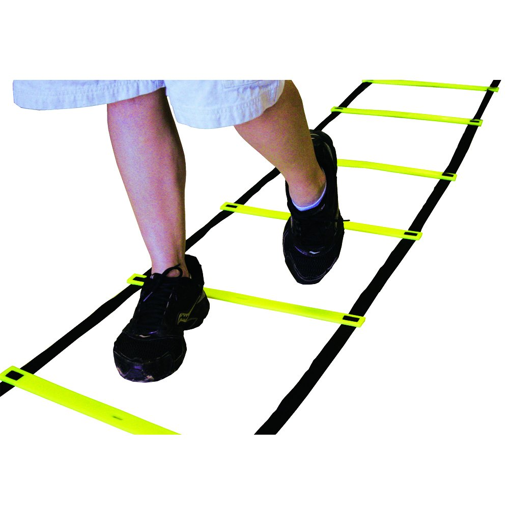 AMBER Sports Speed and Agility Training Ladder for high Intensity Training Boxing, Soccer, Football, Lacrosse, Ice Hockey 15 Feet