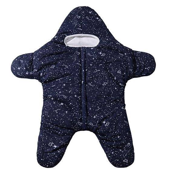 Mitlfuny Invierno Grueso Swaddle Wrap Aire Libre Saco de Dormir para Bebé Niños Estrellas De Mar Manto Envolver Recién Nacido Multifunción Cochecitos Cunas ...
