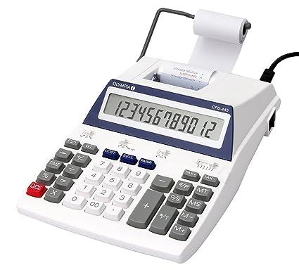 Olympia CPD 445 - Calculadora (impresora, 12 dígitos ...