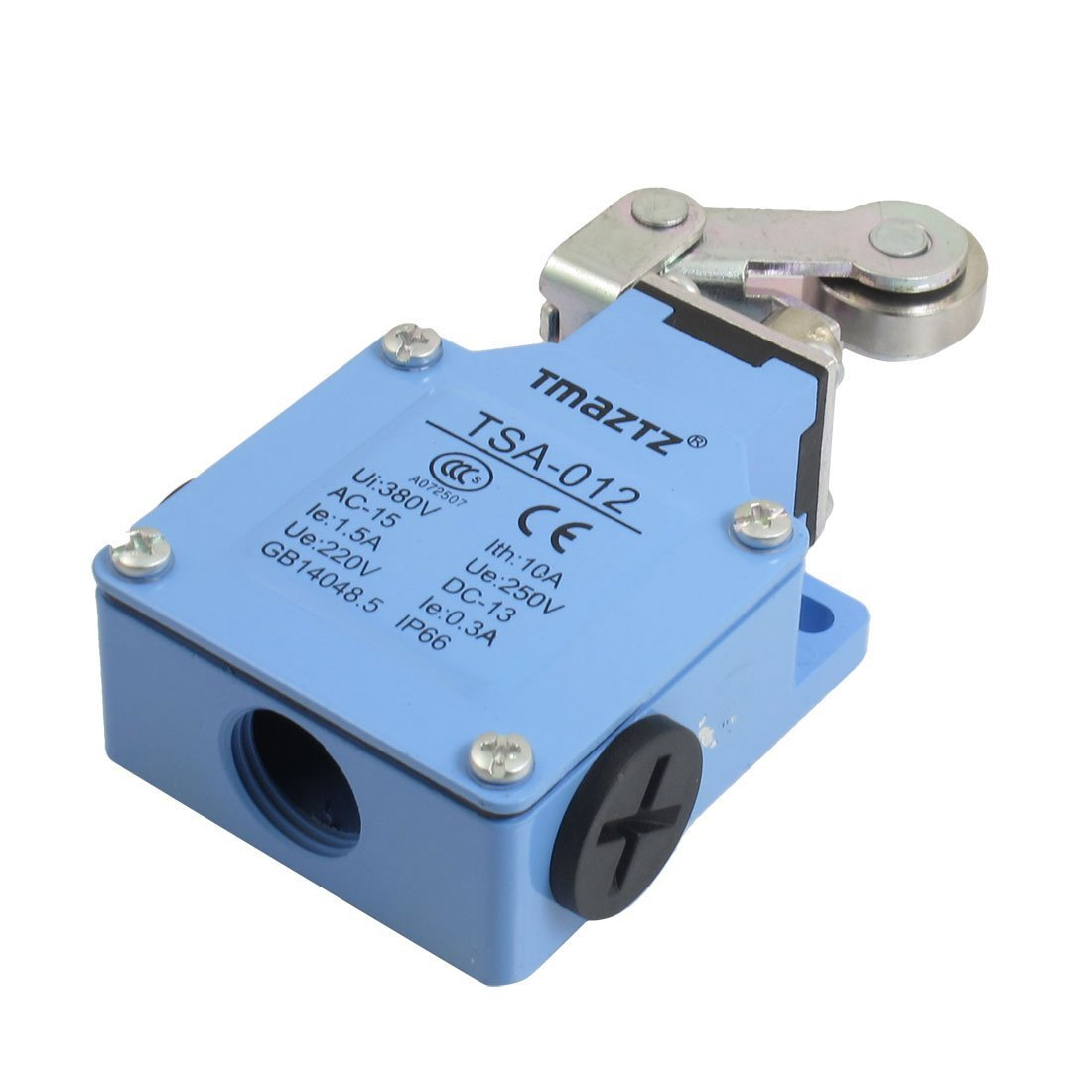 Baomain Limit switch TSA-012 Rolling Cam Momentary 1NO 1NC 250VAC 1.5A 220VDC 0.3A by Baomain (Image #1)