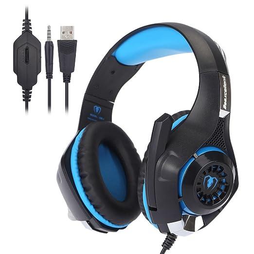 18 opinioni per Beexcellent GM-1 professionale Esport Gaming Stereo Bass Headset cuffia