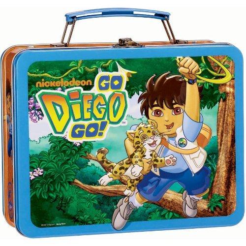 Go Diego Go Metal Lunch Box -