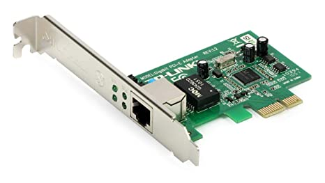 TP-Link TG-3468 - Adaptador de red Gigabit PCI Express (control de flujo 802.3x, Wake-on-LAN, 32 bits, RJ45)