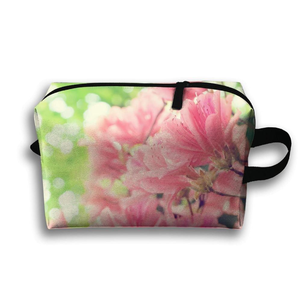 DTW1GjuY Lightweight And Waterproof Multifunction Storage Luggage Bag Beautiful Spring Flowers