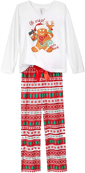 Sleep On It Girls 2-Piece Pajamas
