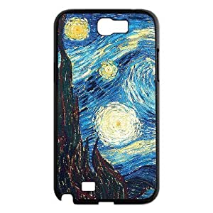 case Of Vincent Van Gogh Customized Bumper Plastic Hard Case For Samsung Galaxy Note 2 N7100