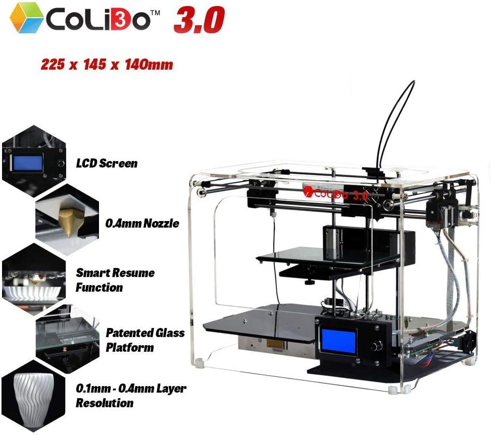 Impresora 3D COLIDO 3.0 DIBU: Amazon.es: Electrónica