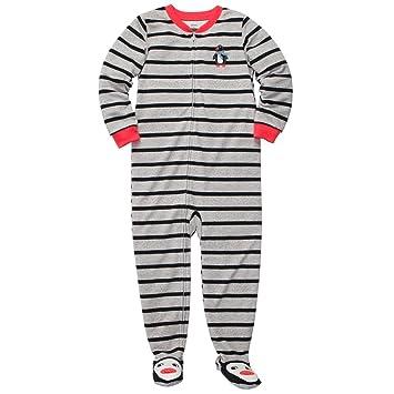 Carters Boys 1 Piece Blanket Sleeper Fleece Pajamas-All Star 5T