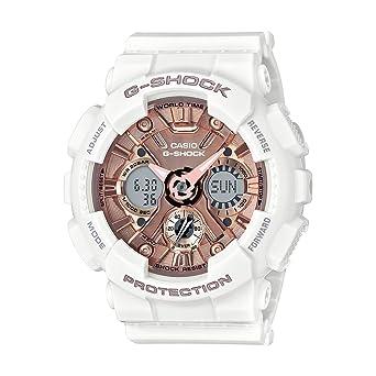 dbf167ce7 Casio G-Shock S-Series Analog-Digital Rose Gold Dial Women's Watch -