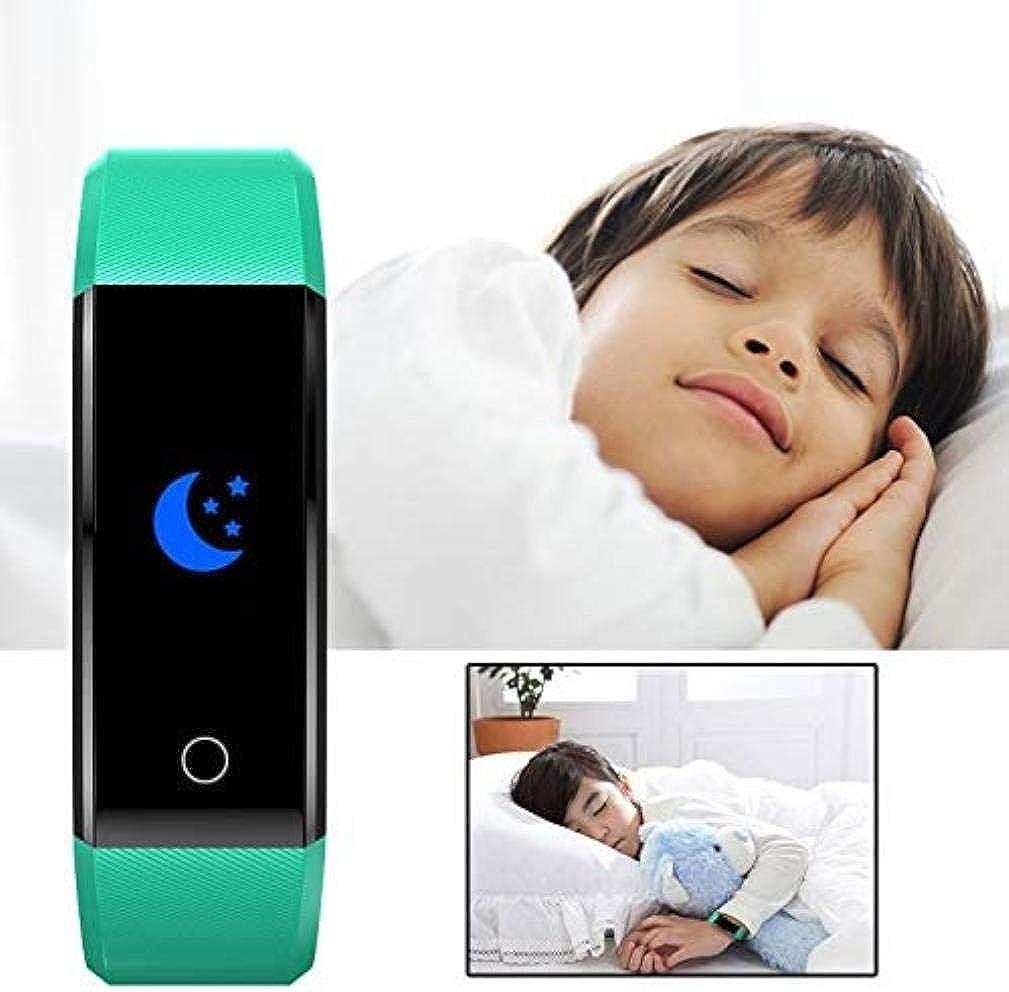 Sport dei bambini della vigilanza braccialetto Fitness Tracker verde menta Blu
