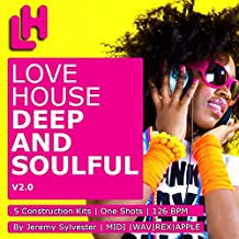Love House - Deep n Soulful V2 - Download 5 construction kits, WAV, REX2, APPLE LOOPS & MIDI [DVD non Box]
