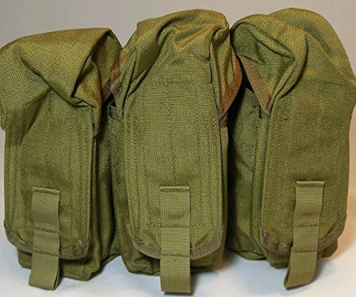 Eagle Industries MOLLE Style Triple Mag Pouch (MP3-AK47/2-MS) for sale  Delivered anywhere in USA