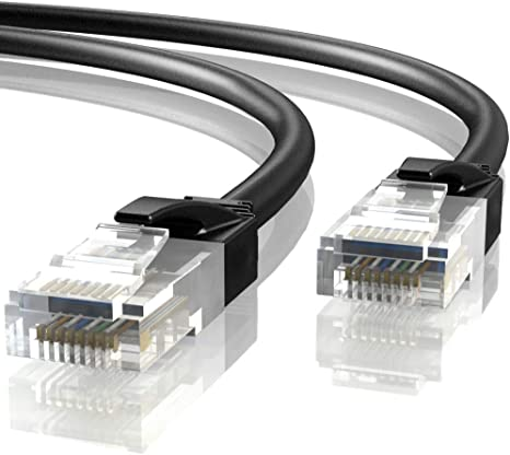 Mr RJ45 Grigio CCA Tronic 30 Metri Cavo di Rete Ethernet 30m CAT6 AWG24 UTP