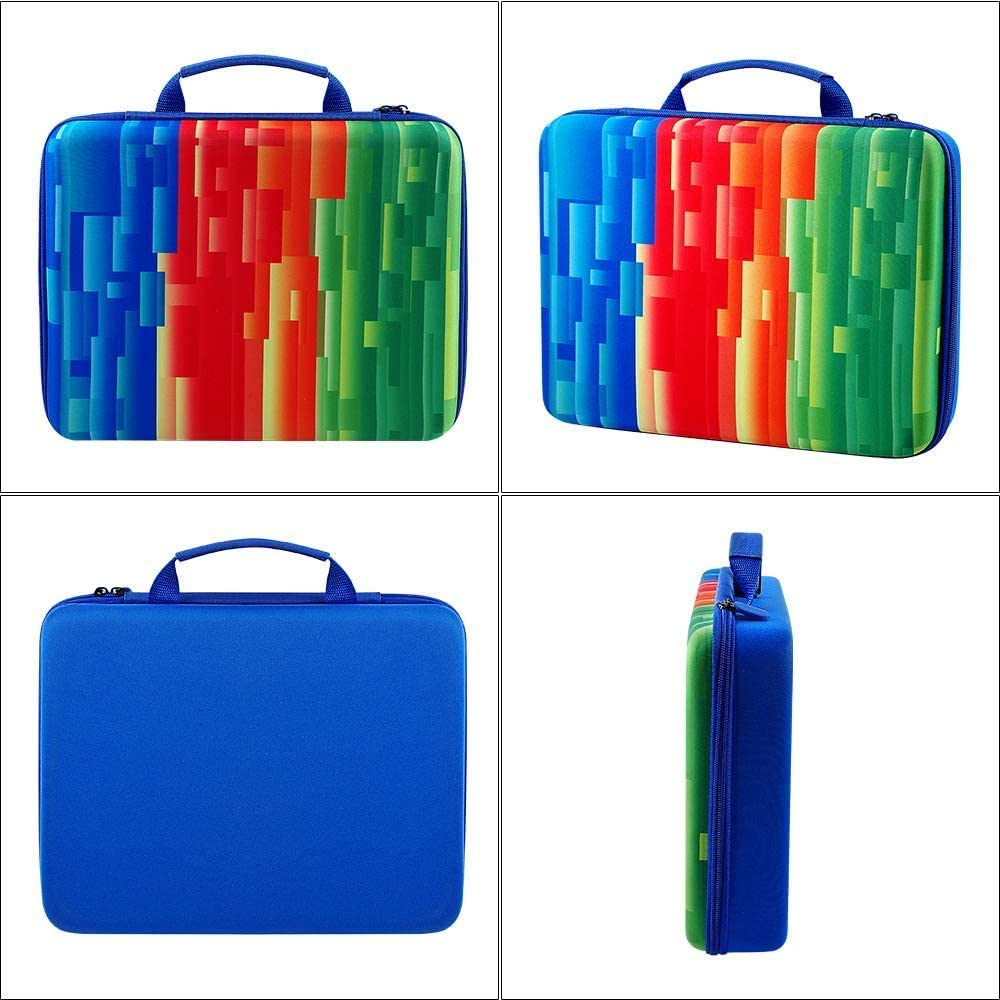 Colors ALKOO Storage Organizer Case Compatible with Playmags 3D Magnetic Blocks for Kids /& Alphabet Set of 100 Blocks to Learn Shapes