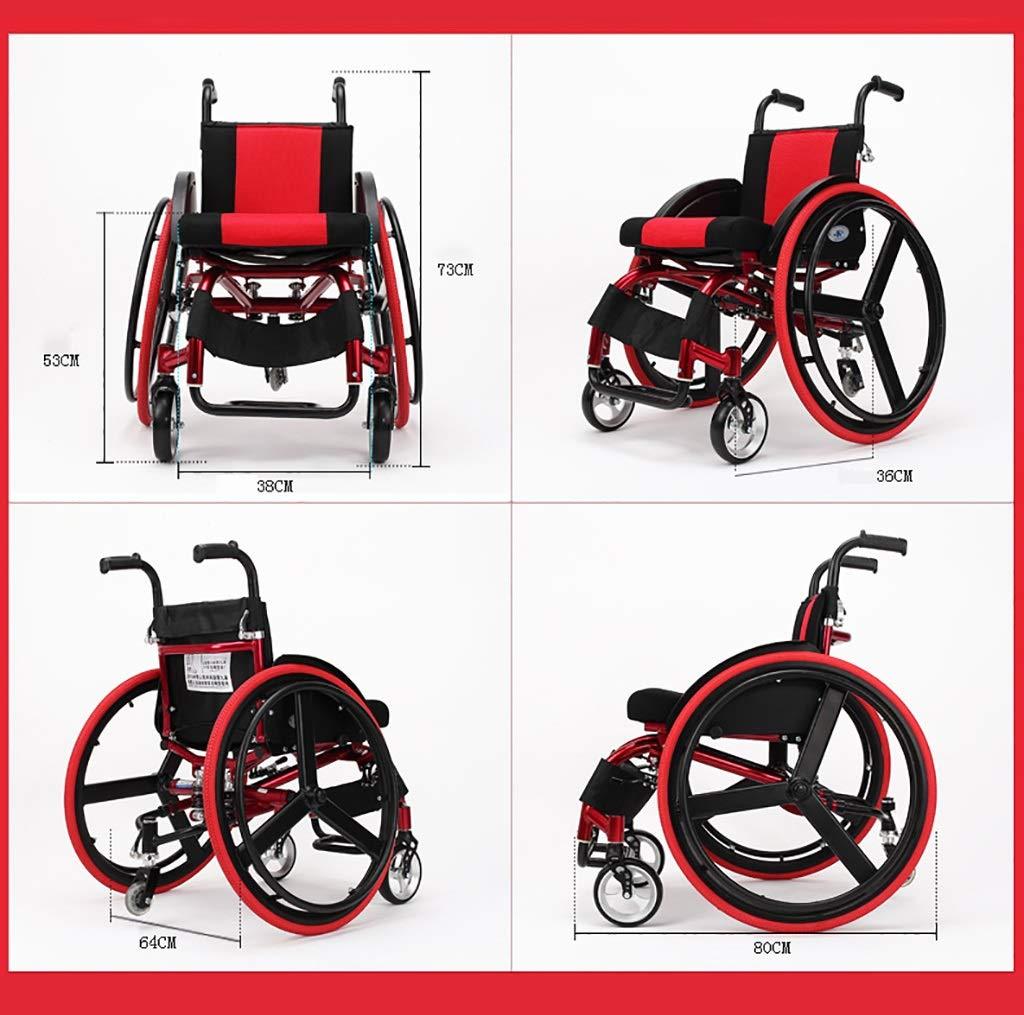 Amazon.com: MLX Wheelchair, Sports Wheelchair Manual Wheelchair ...