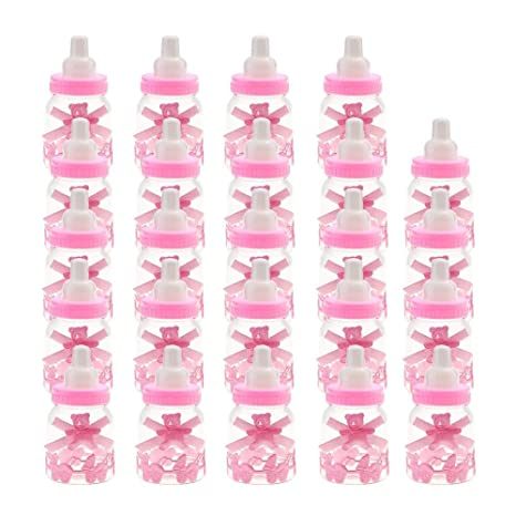 Esterilizacion Baby Candy Bottle 24 Piezas Baby Shower Candy ...
