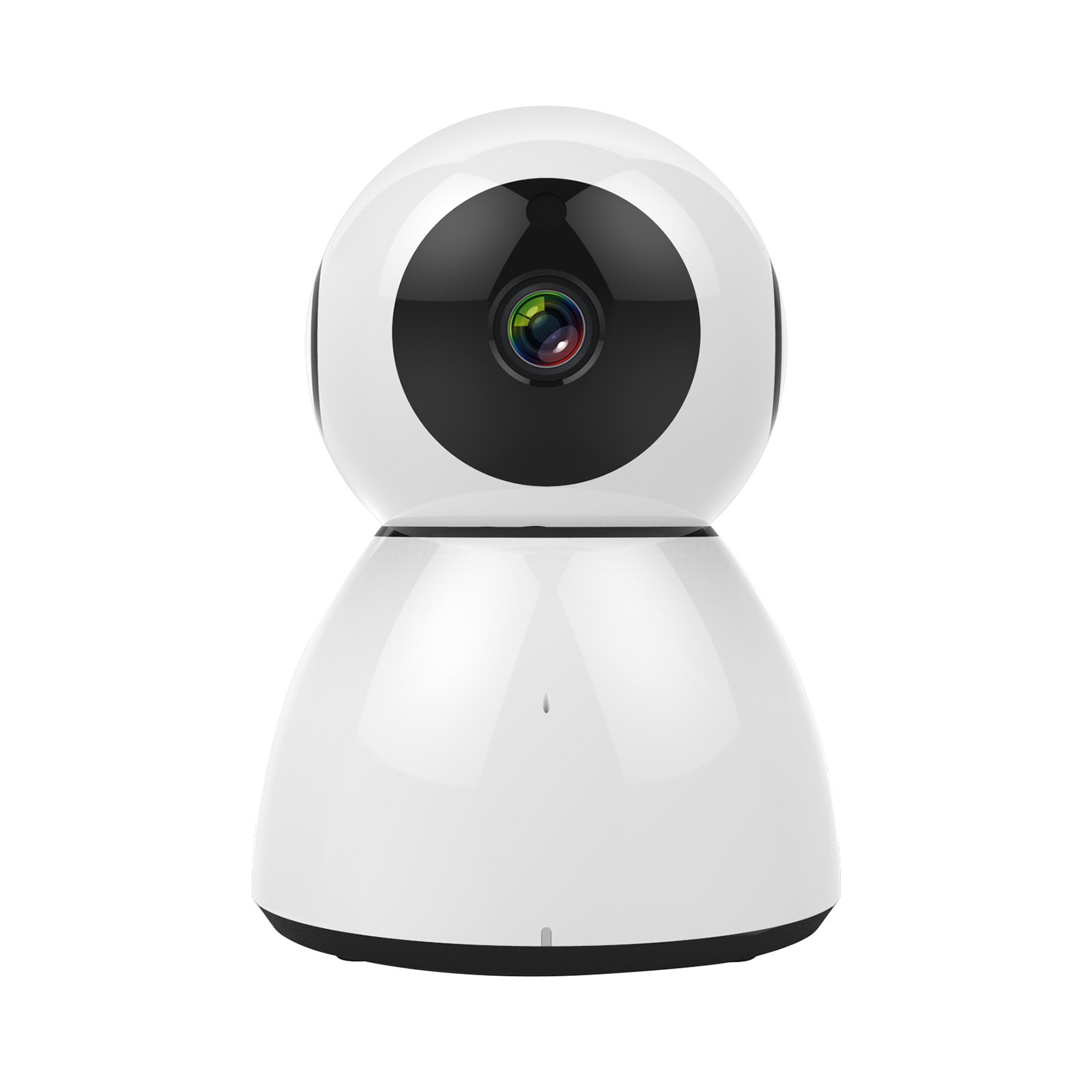 Wireless 1080P Security Camera, Home Surveillance IP Camera for Baby/Elder/Pet Monitor Night Vision, Motion Tracker White