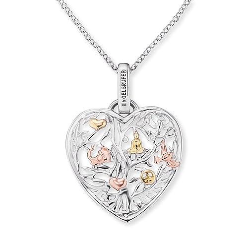 prezzo competitivo b9002 c44cc Chiama angeli - Collana da Donna con Ciondolo in argento 925 ...