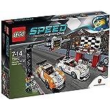 LEGO 75912 Speed Champions Porsche 911 GT Finish Line Set