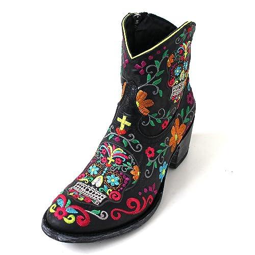 a basso prezzo 4bca9 60e71 Mexicana - Stivali western Donna , multicolore (Black (black ...