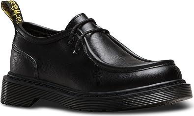 Dr Martens Juniors Negro Hambleton Moc Toe Zapatos-UK 10 Infant Xa09eYt