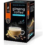 King Cup - Caffè al Ginseng Da Zuccherare - 1 confezione da 10 Bustine Solubili (10 tazze)