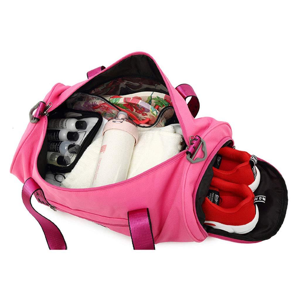 Size : 45cmx22cmx22cm XF Gym Totes Sports Bag Fitness Bag Handbags Tide Belt Shoes Yoga Training Package Dry and Wet Separation Swimming Bag Portable Travel Bag-45cmx22cmx22cm Gym Bags