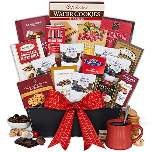 Coffee and Chocolates Gift Basket Premium by GourmetGiftBaskets.com