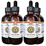 Noni Liquid Extract, Organic Noni (Morinda citrifolia) Tincture, Herbal Supplement, Hawaii Pharm, Made in USA, 4x4 fl.oz