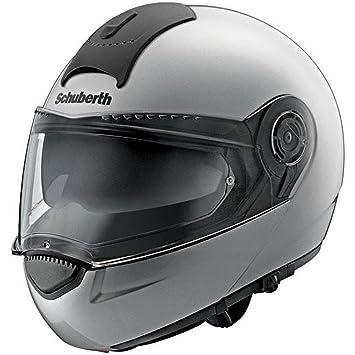 Schuberth C3 Basic Plata Motocicleta Casco