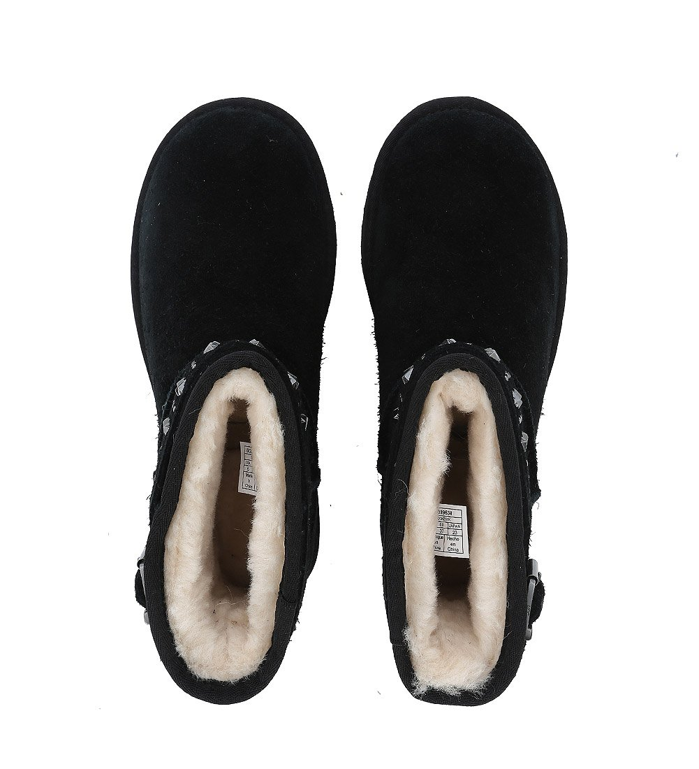 UGG Womens Jadine Shearling Boot Black Size 5 by UGG (Image #5)
