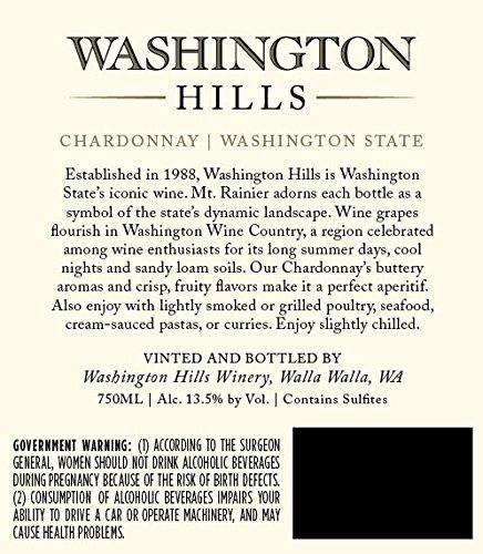 2015 Washington Hills Chardonnay Washington 750 mL