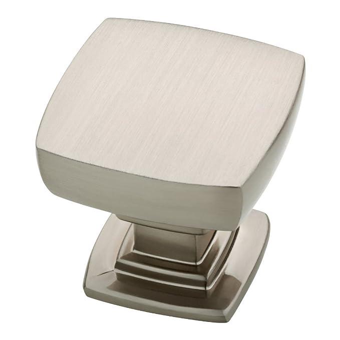 Franklin Brass FBA_P29542K-SN-C P29542K-SN-C Satin Nickel 1-1/8-Inch Webber Kitchen Cabinet Hardware Knob, Single,