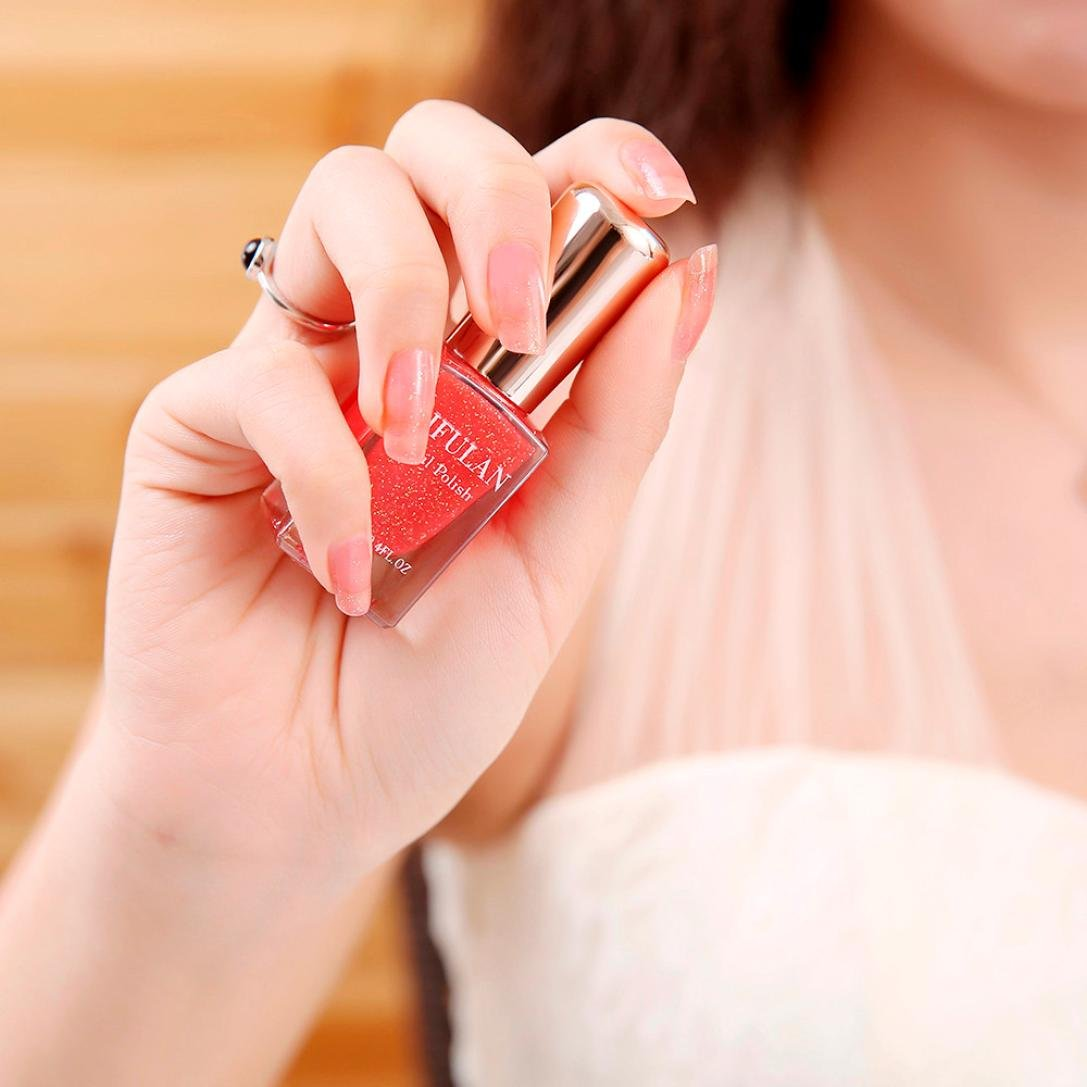 TAOtTAO 12 Farben Nagellack Beste Peelable Atmungsaktive Wasserbasierte Material Nail art Neu (L)
