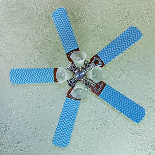 zebra print ceiling fan blades - 2