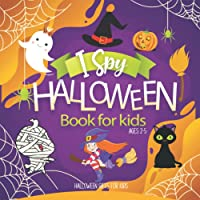 Halloween gifts for kids: I Spy Halloween book for kids ages 2-5: I spy with my little eye   Halloween activities for…
