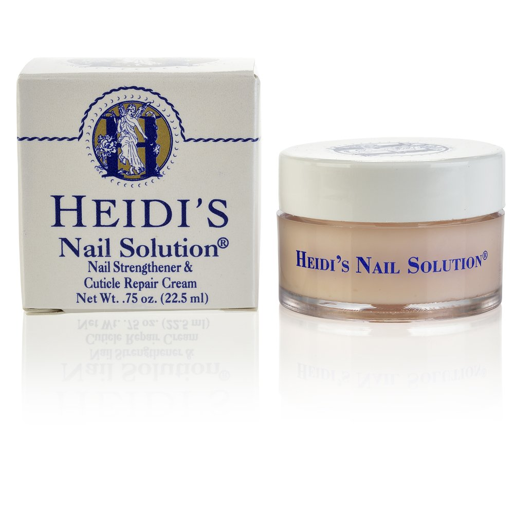 HEIDI'S Nail Strengthener and Cuticle Repair Creme, 0.75 Ounce by HEIDI'S