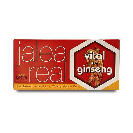 SOTYA Jalea Real Vital con Ginseng 20 ampollas