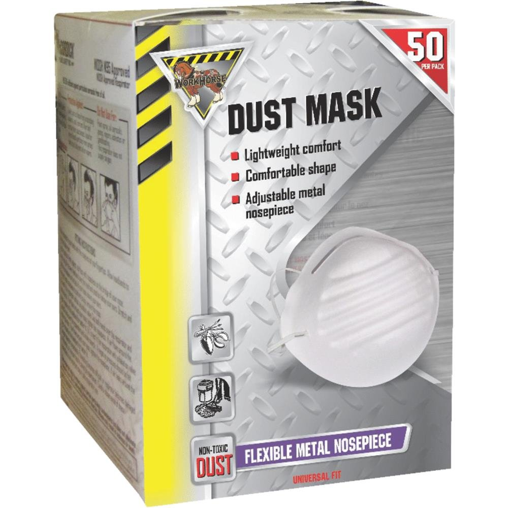 McCordick Glove and Safety Workhorse Disposable Particulate Mask N95