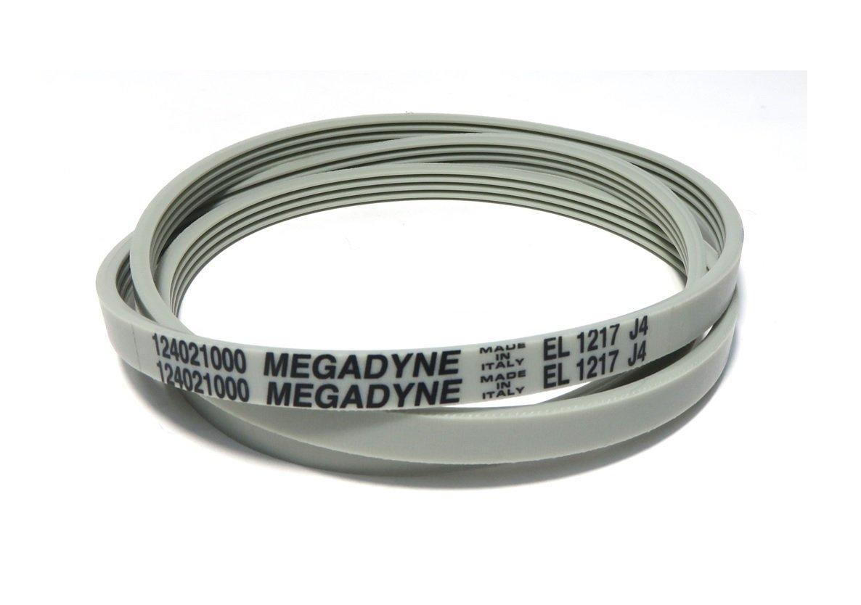 Megadyne - Correa de lavadora EL 1217 J4: Amazon.es: Hogar