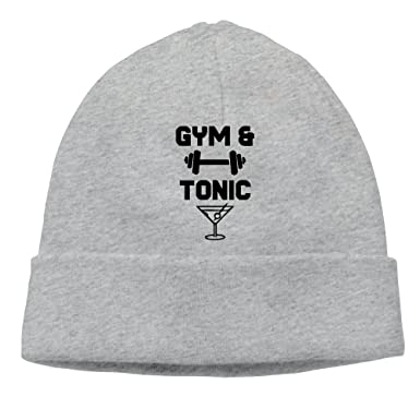 BF5Y3z MA Mens and Womens Gym and Tonic Knitted Cap c6de8e919e4
