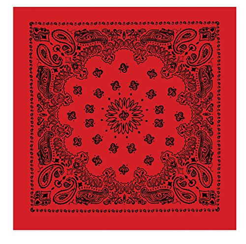 Rothco Trainmen Bandanas, Red, 27'' x - Bandana Adult