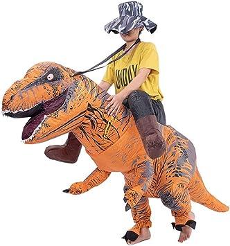 Disfraz De EquitacióN De Dinosaurio Inflable, Disfraz De ...