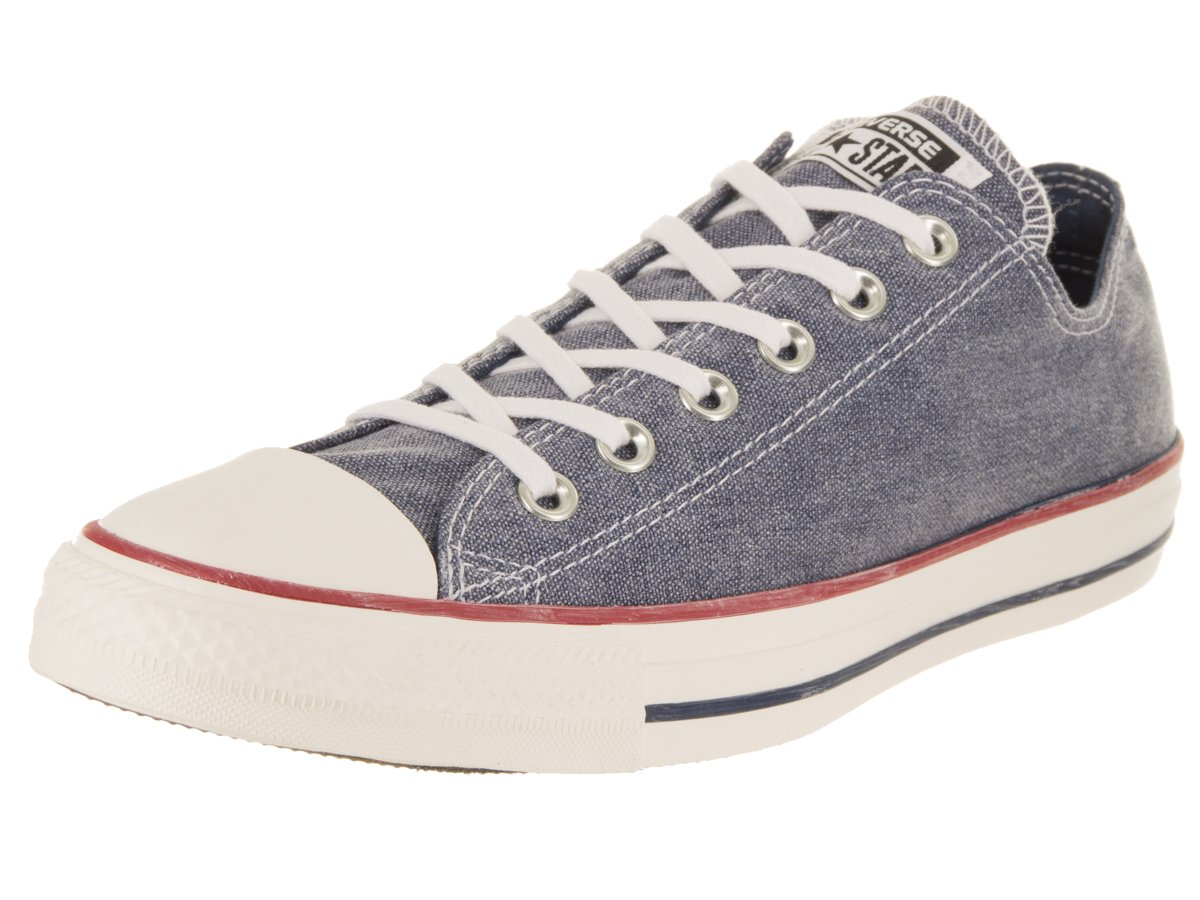 Converse Chuck Taylor All Star Canvas Low Top Sneaker B073BPVXWZ 7 US Men/9 US Women|Navy/Navy/White
