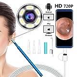 VINSO TECH Ear Otoscope Inspection Camera 3 in 1