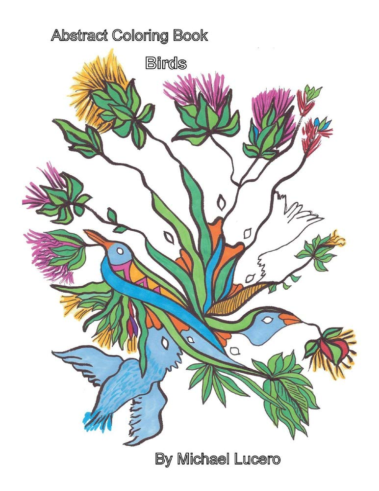 Amazon.com: Abstract Coloring Book Birds (1) (Abstract Series)  (9781098334390): Lucero, Michael: Books