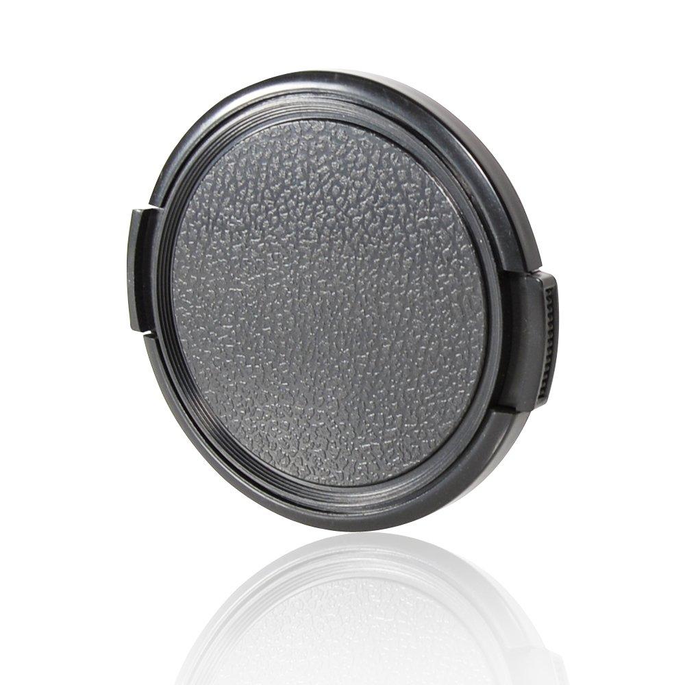CamDesign 77MM Sides Pinch Snap-On Front Lens Cap/Cover for Canon, Nikon, Sony, Pentax all DSLR lenses + CamDesign Wristband Lens Focus Ring Cam Design SNAP CAP 77MM SP