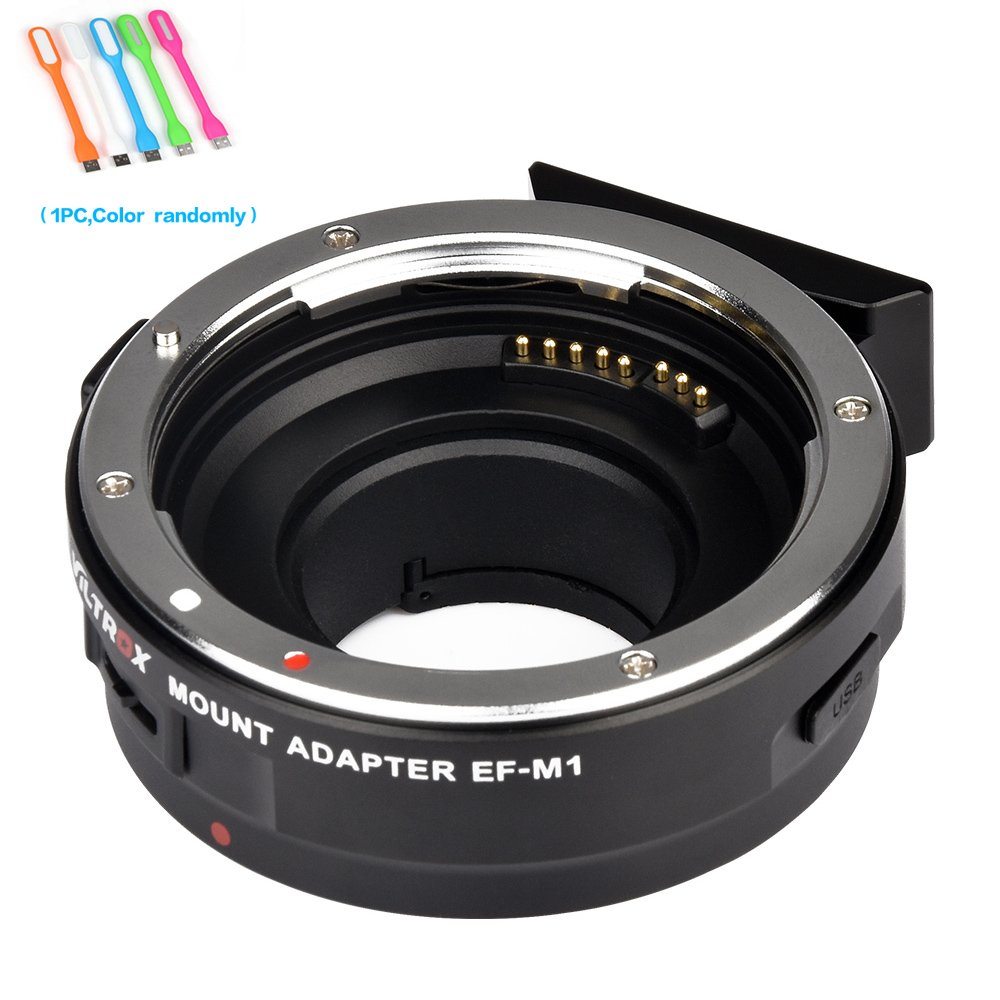 Viltrox EF-M1 Auto Focus lens mount adapter AF ,EXIF Adapter for Canon EF/EF-S Lens to M4/3 Olympus /Panasoniccameras